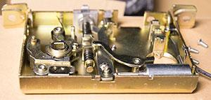 electric lock inside image